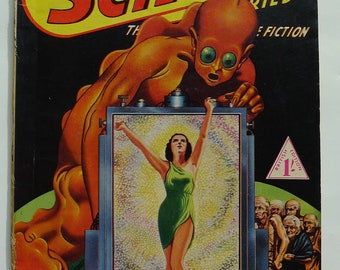 1942  Super Science Stories No. 9 --- Persecutors; For Sale, One World.   British Edition No.9