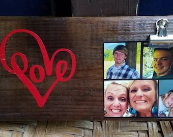 Mom/Meme love sign with changeable photo
