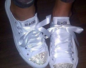 Crystal Toe Converse