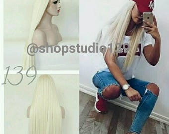 613 blonde lace front wig 24inches