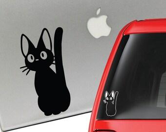 Jiji Kiki's Delivery Service Vinyl Decal for Laptop or Car