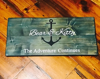 CUSTOM Name Sign, Personalized Name Sign, Wood Sign, Rustic Wood Sign