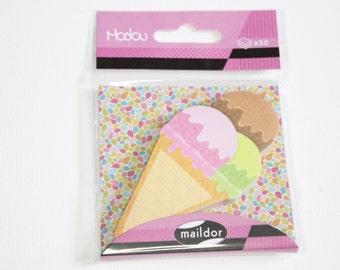 sticky notes ice cream