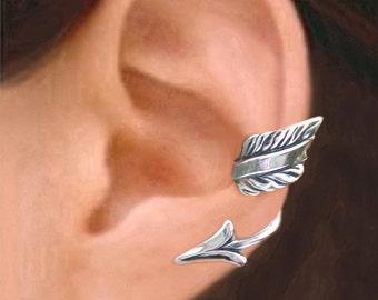Arrow ear cuffs Sterling Silver ear cuff earrings Arrow jewelry Non pierced Arrow earrings Archery jewelry ear clip jewelry handmade C204203
