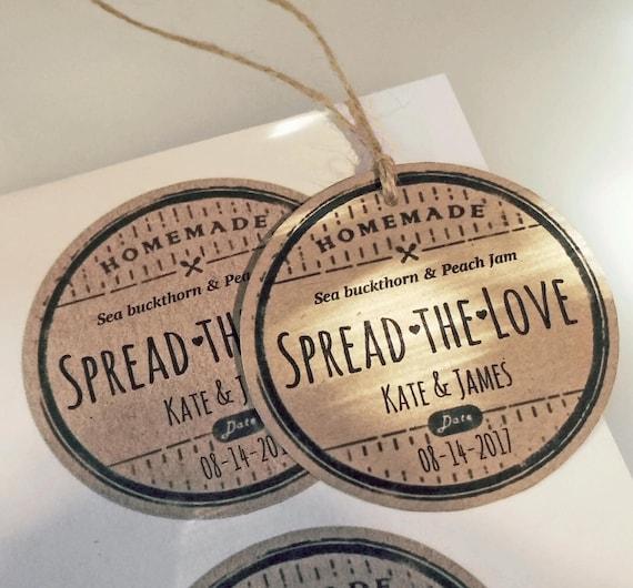 Wedding Diy Printable Favor Jar Labels Editable Avery Template