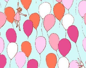 Best of Sarah Jane - Balloons in Aqua - Sarah Jane - Michael Miller (DC5146-AQUA-D)