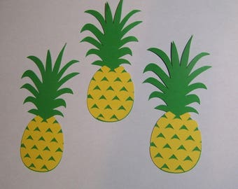 Pineapple die cuts