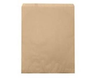 """100 Kraft Merchandise Retail Paper Party Favor Gift Bags 5"""" x 7"""" Tall"""