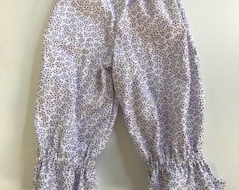 Baby girls ruffle pants - size 12-18 months