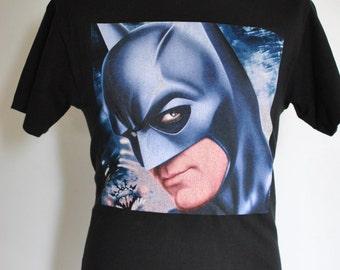 Vintage BATMAN vs ROBIN men's t-shirt , 90's men's t-shirt....(001)