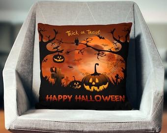 Halloween Pillow   Halloween Throw Pillow   Halloween Decor   Halloween Pillow Case   Halloween Pillow Cover   Halloween Cushion  