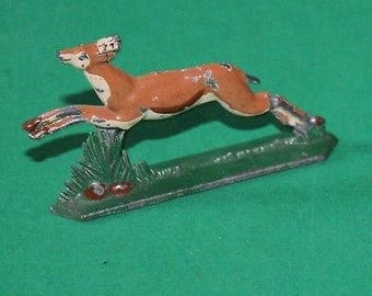 Vintage Lead Running Deer
