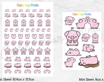 PIG Planner Stickers (2 options)
