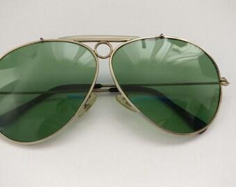 Genuine vintage Shooter Aviator  Sunglasses from 80's