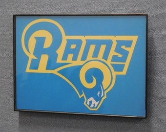 Los Angeles Rams Wall Art Hand Made