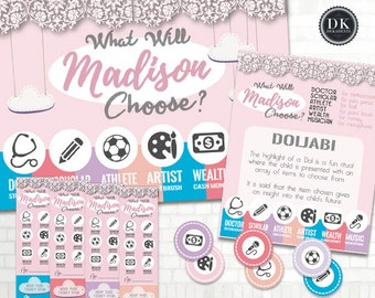 the MADISON Doljabi Kit: Korean First Birthday DOL Printable