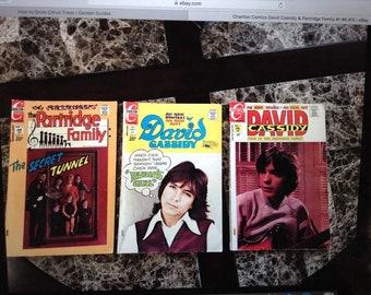 David Cassidy & Partridge Family Comics 1-6 and 15