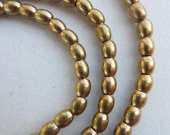 Brass Spacer Beads (4x5mm) [64797]