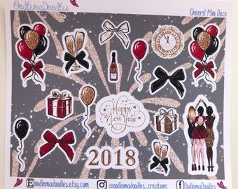 Cheers! Decorative Stickers