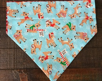 Rudolph the Red Nosed Reindeer Dog Bandana