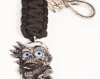 Steel key chain stainless steel/Gollum/the Lord of the rings/key