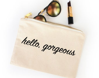Hello, Gorgeous Cosmetic & Travel Bag