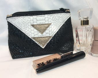 """Trousse maquillage """"Triangle d'or"""""""