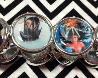 Freddy Krueger inspired bracelet