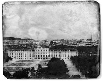Vienna, Austria - Fine Art Photograph - Antiqued Schonbrunn Palace