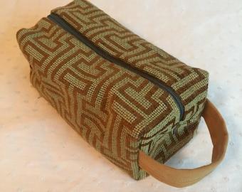 Boxy bag - lush geometric