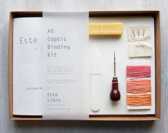 Coptic Binding Kit - Peach