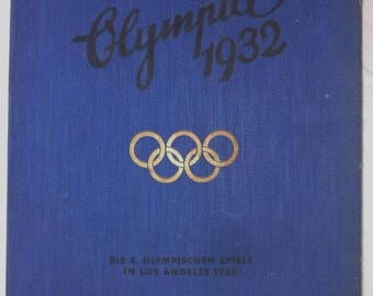 Collecting picture album Olympia 1932