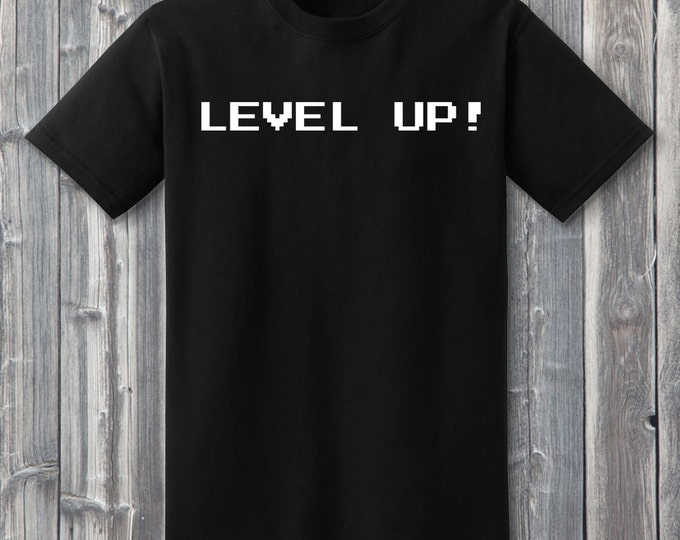 Level Up 100% Soft Cotton Gamer Shirt