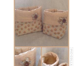Fabric Storage Bin set