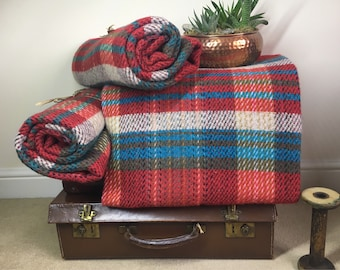 Rolled Blanket - Yorkshire Blankets Eco Friendly 80% Wool