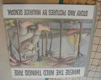 Where the Wild Things Are Maurice Sendak Vintage Book Childrens Book