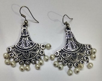 Earrings indian fashion jewelry