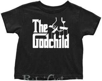 The Godchild Youth T-Shirt (godparent gift, godfather present, godmother gift, godchild, cute godchild gift, godchild present)