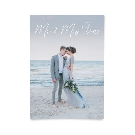 Wedding thank you cards with picture, Thank you cards photo, Post card thank you, Printable wedding thank you card, Wedding thank yous, A6