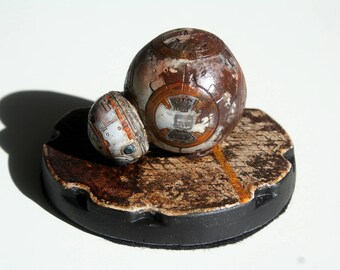 Diorama Star wars DROID BB8.
