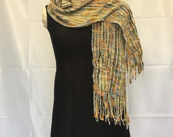 Harvest Moon Handwoven Scarf