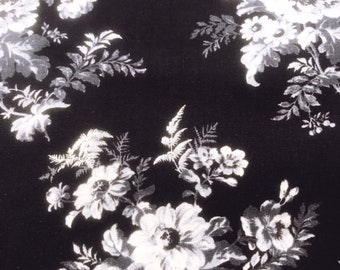 Botanical Forest Bloom Black  Laura Ashley