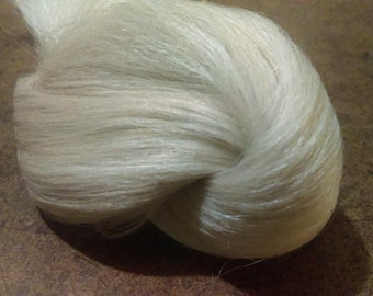 """Washed and Combed Suri Alpaca Fiber 8""""-9"""" Inches Select how many Ounces you will need"""