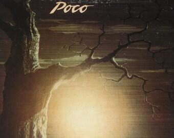 Poco vinyl record, Poco Ghost Town vintage vinyl record album