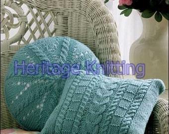 cushion set knitting pattern 99p