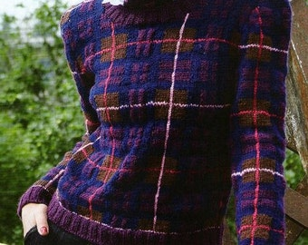 Scottish Blueberry Sweater