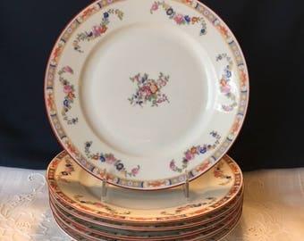 MZ Altrohlau Dinner Plates, Set/4