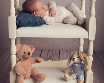 Exclusive bed for Twins  Photography Props  Newborn Photo Props  Baby Doll Bed  Posing Beds  DIY Baby Beds