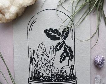 Terrarium Print