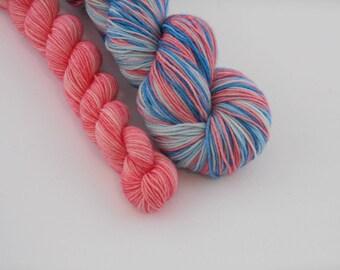 LOVE SOCK self-striping, 021, merino nylon sock yarn,100g